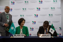 (7) The African Development Bank and the Global Green Growth Institute partner to fast-track Green G